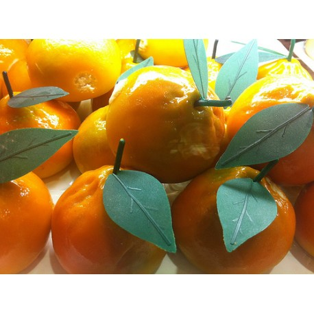 Foglie per frutta martorana Mandarino