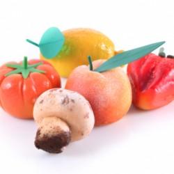 Foglie per frutta martorana Pesca