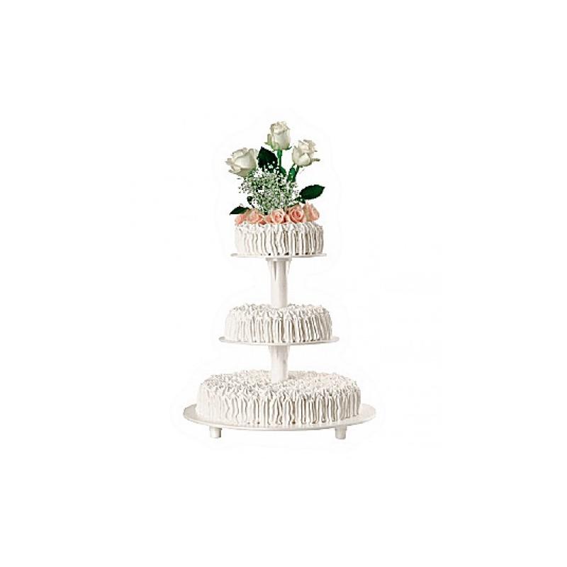 Alzata torta 3 piani plastica for Design a 3 piani