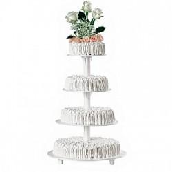 Alzata per torta 4 piani