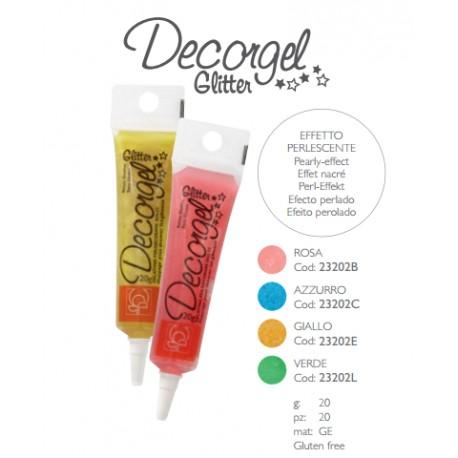 Gelatina a penna Decorgel Glitter vari colori