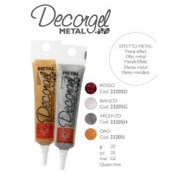 Gelatina a Penna Metal Decorgel vari colori