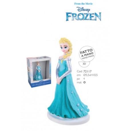 Frozen in pasta di zucchero