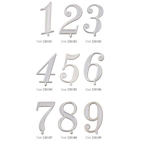 Numeri in plastica per torte