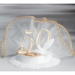 Centrale torte 50° anniversario con Fedi