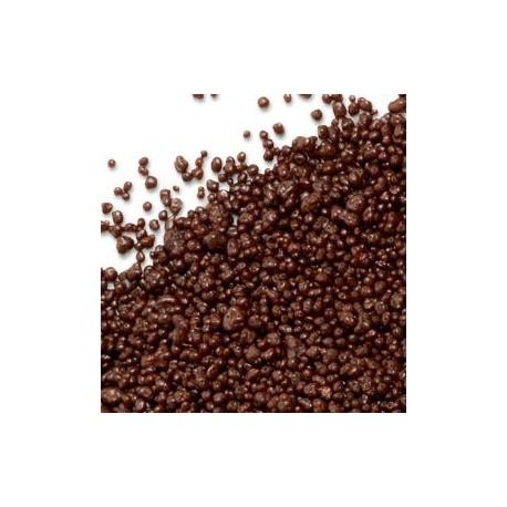 Zucchero di Canna ricoperto al Cioccolato Fondente