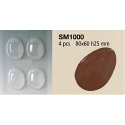 Stampi per uovo di cioccolato in Polietilene