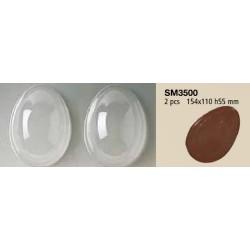 Stampo per Uovo di Cioccolata Grande