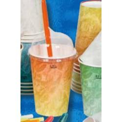 Bicchiere di Carta per Bibite Arancione B/55