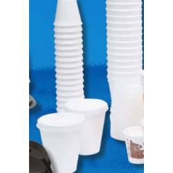 Bicchiere di Polistirolo Espanso per bibite e caffe' 80 ml