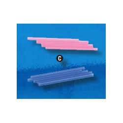 Cannucce per Bibite Azzurre e Rosa Assortite