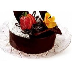 25 Vassoi Stellino Piccolo trasparente per torte