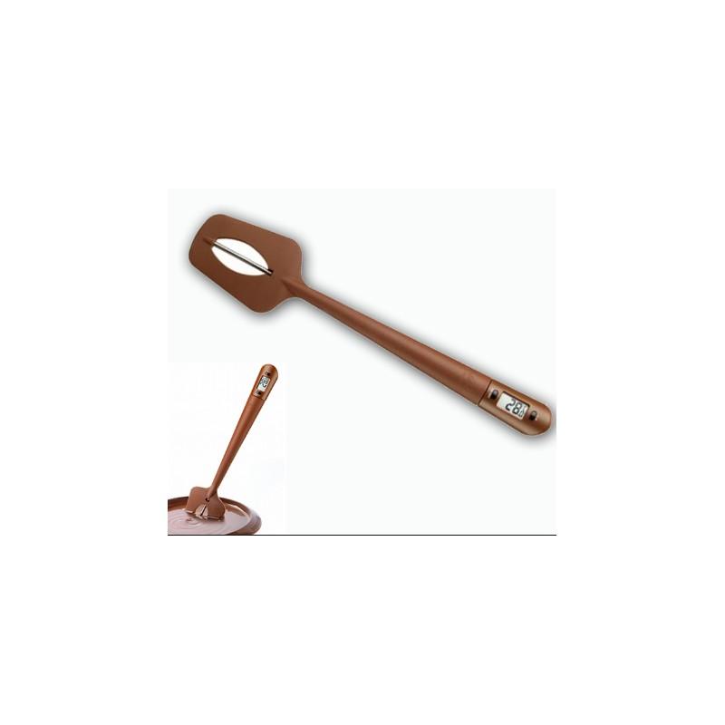 Spatola con termometro per cioccolato - Termometri da cucina ...