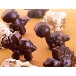 Stampo Silicone Dinosauri per Cioccolatini