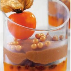 10 Coppette con Taglio Obliquo per dessert 120 ml