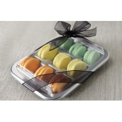 Porta Macaron e Biscotti 20 BASI + 20 COPERCHI