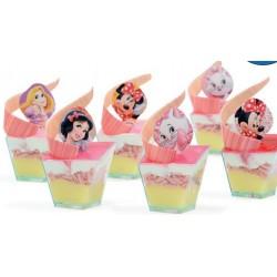 Cialdine per torte Decoshape Disney Femminile