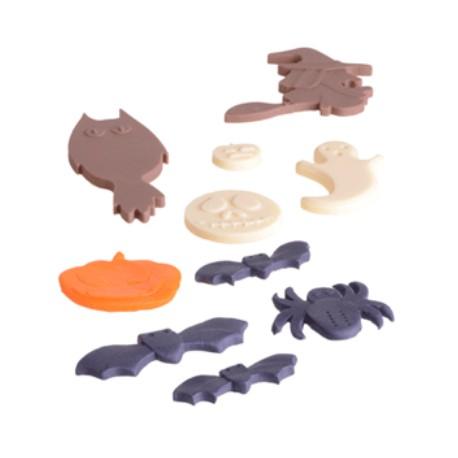 Stampo Halloween in silicone 12 soggetti