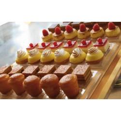 Blister Vassoio + coperchio per 12 mignon - macaron
