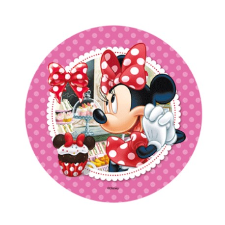 Cialda per torta Topolino e Minnie