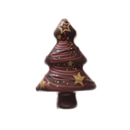 Abete in Cioccolato per decorazioni