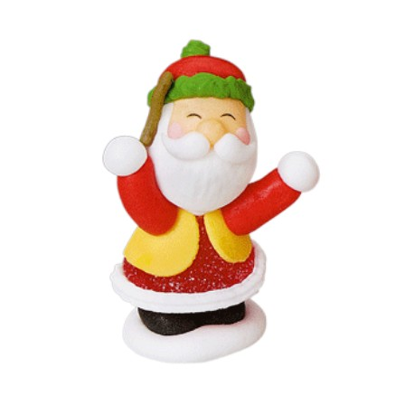 Babbo Natale in Zucchero e Gelatina