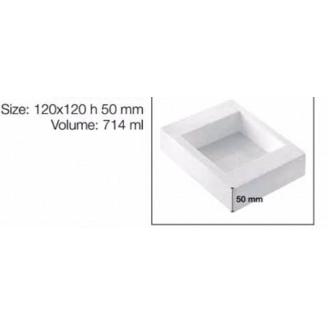 Teglia Quadrata per torte in silicone