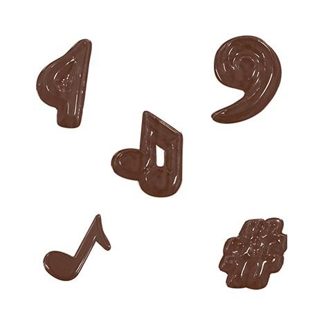 Stampo cioccolatini Note Musicali