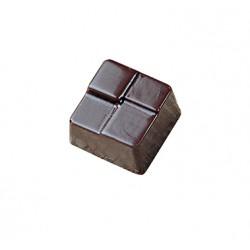 Stampo Cioccolatini Quadretti in policarbonato