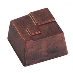 Stampo per cioccolatini Quadrati policarbonato