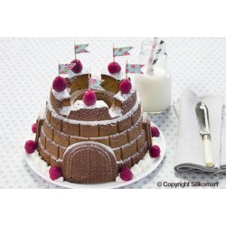 Tortiera torta Castello in silicone