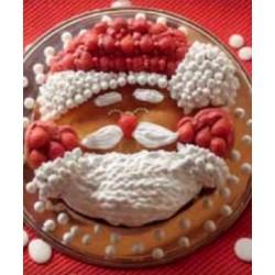 Tortiera Babbo Natale Silicone