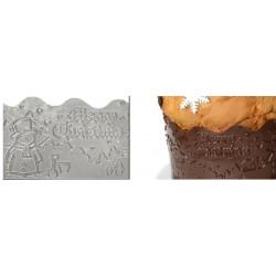 Nastro Natalizio per pasta di zucchero e cioccolato