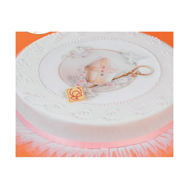 Torte per cresima e comunione cv96 regardsdefemmes for Decorazioni torte per cresima