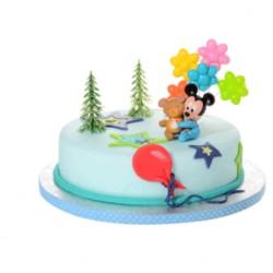Kit Topolino Baby con Orsetto per torte