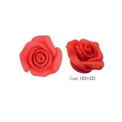 Rosa Pasta di Zucchero Rossa