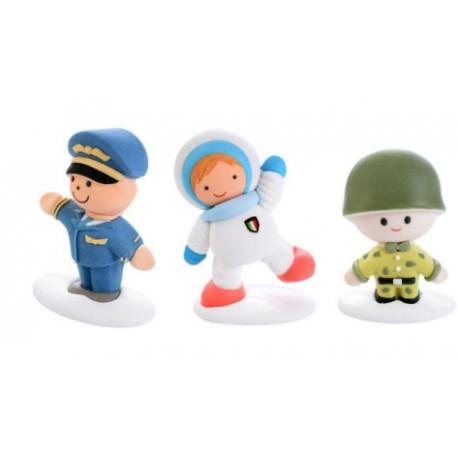 Militari di zucchero per decori