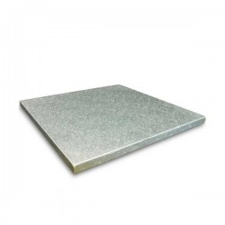 Vassoio Alluminio Rettangolare