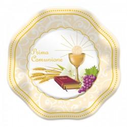 Piatti per Comunione decorati