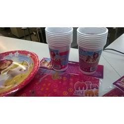 Bicchieri plastica Mia and Me
