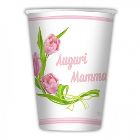 Bicchiere Auguri Mamma