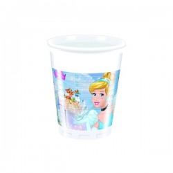 Bicchieri Cenerentola in plastica
