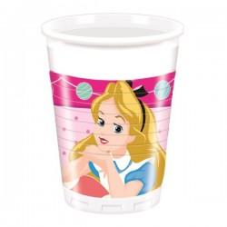 Bicchieri Alice nel paese delle Meraviglie