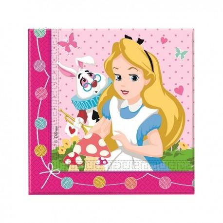 Tovagliolo Alice nel Paese delle Meraviglie