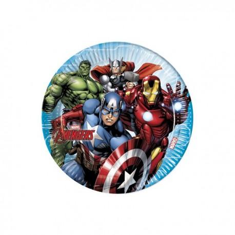Piatto Grande Avengers Mighty