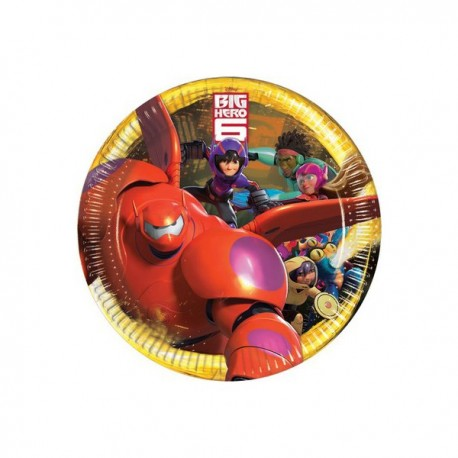 Piatto Grande Big Hero 6