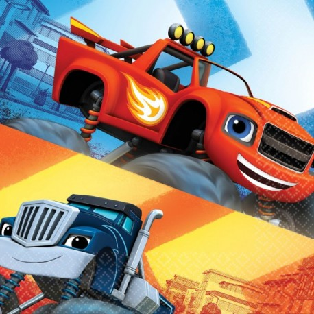 Tovagliolo Blaze and the Monster Machines
