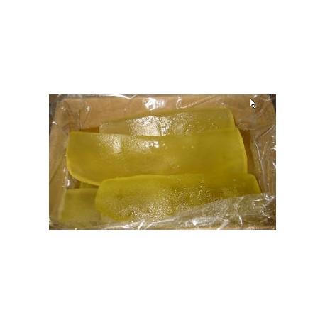 Zucca a canali bianca