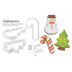Tagliapasta Natalizio Kit da 3 pezzi