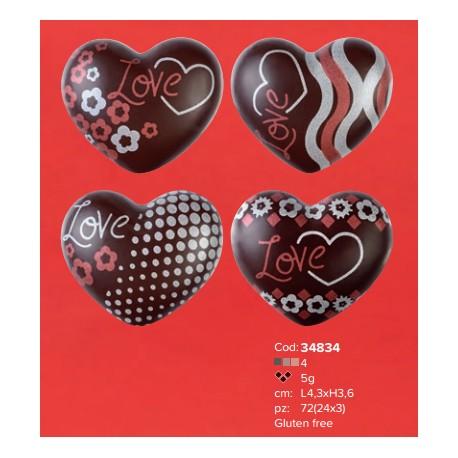 Cioccolatini a cuore streglio